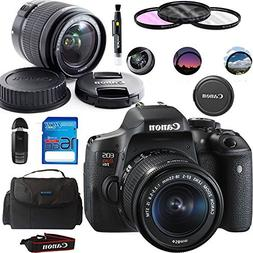 Canon EOS Rebel T6i DSLR Camera with 18-55mm STM Lens + Deal