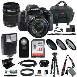 Canon EOS Rebel T6i DSLR Camera with EF-S 18-135mm f/3.5-5.6