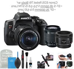 Canon EOS Rebel T6i Digital SLR Camera  w/ EF-S 18-55mm f/3.