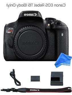 Canon EOS Rebel T6i Digital SLR Camera  Body Only + DigitalA