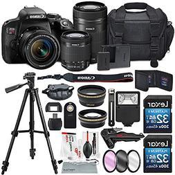 Canon EOS Rebel T7i DSLR Camera W/ EF-S 18-55mm f/4-5.6 IS S