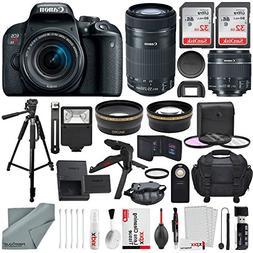 Canon EOS Rebel T7i DSLR Camera W/EF-S 18-55mm f/4-5.6 IS ST