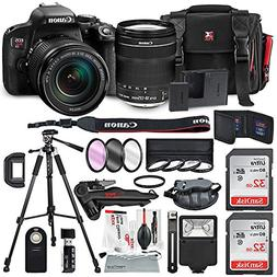 Canon EOS Rebel T7i DSLR Camera W/EF-S 18-135mm f/3.5-5.6 IS