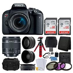 Canon EOS Rebel T7i Digital SLR Camera with EF-S 18-55mm f/4