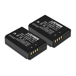 Bonacell 2-Pack of 1600mAh Replacement Canon LP-E10 Battery