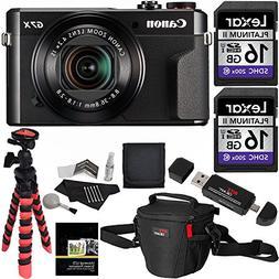 Canon PowerShot G7 X Mark II Camera, Ritz Gear Case, Ritz Ge