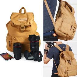 Caden Canvas DSLR Camera Backpack Bag With Removable Inner B