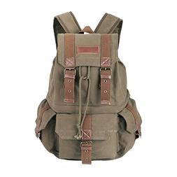 Koolertron Canvas Shoulder Bag with Waterproof Cover for DSL