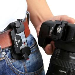 PULUZ Capture Camera Clip Aluminum Alloy Quick Release Clip