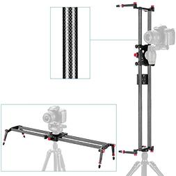 "Neewer 23.6""/60cm Carbon Fiber Camera Track Dolly Slider Rai"