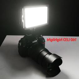 CN-160 Dimmable LED Photo Studio Video Light Lamp for DSLR C