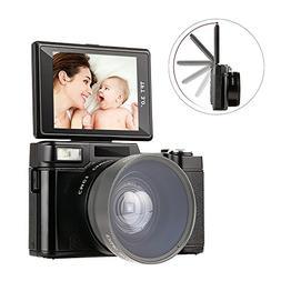 Digital Camera Comcorder Video Camcorders Vlogging Camera Fu