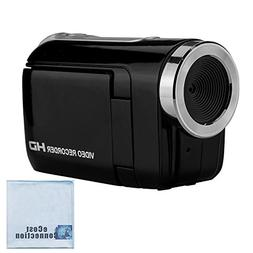 """720P HD Compact Camcorder with 1.44"""" Screen, Easy Editing So"""