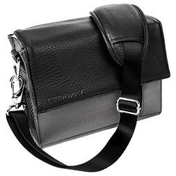 Ladies Gray Shoulder Bag Gadget Bag Fits Nikon SLR DSLR Came