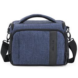 BAGSMART Compact Camera Shoulder Bag for SLR/DSLR with Water