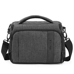 BAGSMART Compact Camera Shoulder Bag for SLR/DSLR with Water