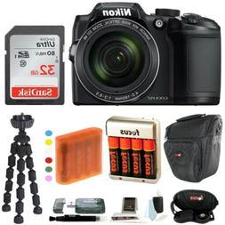 Nikon COOLPIX B500 Digital Camera w/ 32GB USB Accessory Bund