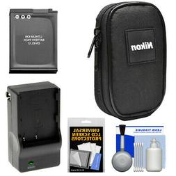Nikon Coolpix Digital Camera Case + Battery Kit for AW110 AW
