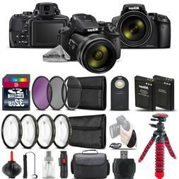 Nikon COOLPIX P900 Digital Camera + DSLR & Spider Tripod  +