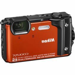 coolpix w300 digital camera orange 26524