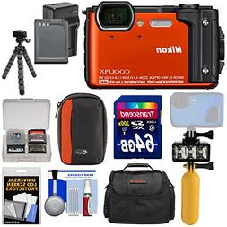 Nikon Coolpix W300 4K Wi-Fi Shock & Waterproof Digital Camer