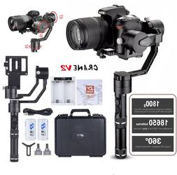 ZHIYUN Crane V2 3-Axis Handheld Stabilizer Gimbal Carry up t