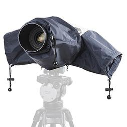 Movo CRC01DB Waterproof Nylon Rain Cover with Enclosed Hand