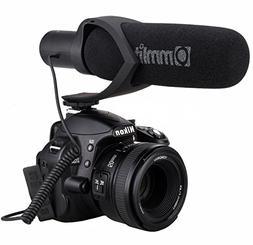 Comica CVM-V30 Shotgun Camera Microphone Super-Cardioid Dire