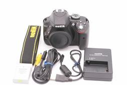 Nikon D D3300 24.2MP Digital SLR Camera - Black