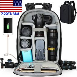 CADeN D10 Large Camera Backpack Bag For Canon Nikon Sony Pen
