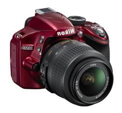 Nikon D3200 Digital SLR Camera w/ 18-55mm Vr Lens Bundle Dea