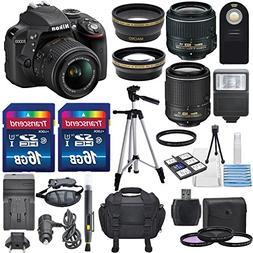 Nikon D3300 24.2MP CMOS Digital SLR Camera with 18-55mm & AF