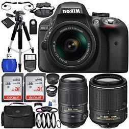 Nikon D3300 DSLR Camera  Bundle with DX NIKKOR 18-55mm f/3.5
