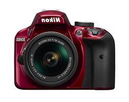 Nikon D3400 Digital Camera Kit with Nikkor 18-55mm f/3.5-5.6