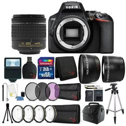 Nikon D3500 24.2MP DSLR Camera +  18-55mm Lens + 55mm Access