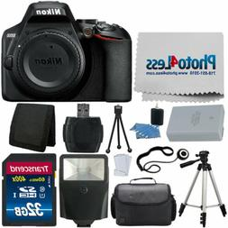 Nikon D3500 Digital SLR Camera  + 32GB Top Value Accessory K