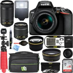 Nikon D3500 DSLR Camera + 18-55mm VR + 70-300mm 2 Lens Kit 1