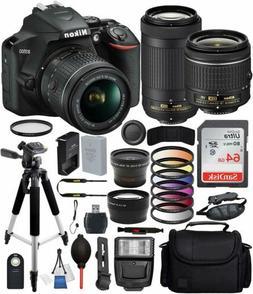 Nikon D3500 DSLR Camera w/ AF-P DX 18-55mm & 70-300mm Lens 6