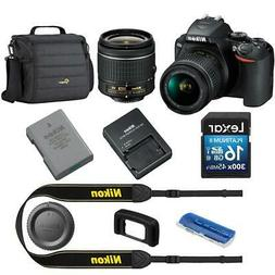 Nikon D3500 24MP DSLR Camera with AF-P DX NIKKOR 18-55mm f/3