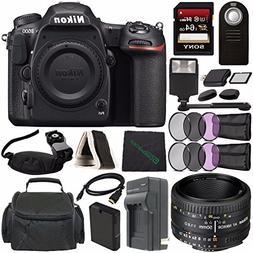 Nikon D500 DSLR Camera  + Nikon AF NIKKOR 50mm f/1.8D Lens +
