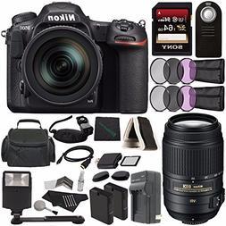 Nikon D500 DSLR Camera with 16-80mm Lens + Nikon AF-S DX NIK