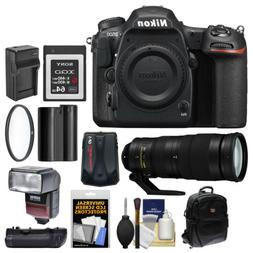 Nikon D500 Wi-Fi 4K HD Digital SLR Camera Body & 200-500mm f