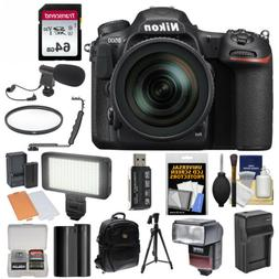 Nikon D500 Wi-Fi 4K HD Digital SLR Camera & 16-80mm VR Lens
