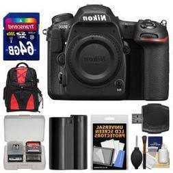 Nikon D500 Wi-Fi 4K Digital SLR Camera Body with 64GB Card +