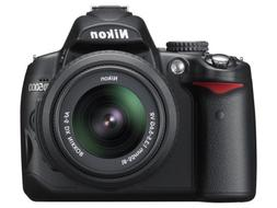 Nikon D5000 DSLR Camera with 18-55mm f/3.5-5.6G VR and 55-20