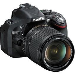 Nikon D5200 24.1 MP DX-Format CMOS Digital SLR Camera with 1