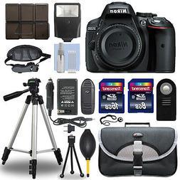 Nikon D5300 24.2 MP Digital SLR Camera Body + 24GB Top Acces