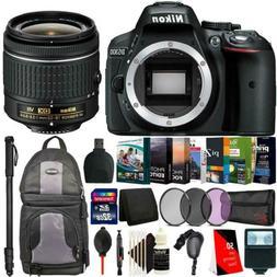 Nikon D5300 24.2MP DSLR Camera + 18-55mm Lens + Monopod & Ac