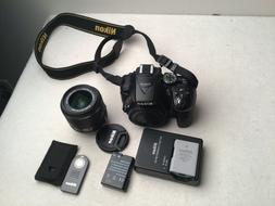Nikon D5300 24.2MP DSLR Camera w/ 18-55mm VR II Lens + ML-L3