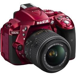 Nikon D5300 24.2 MP CMOS Digital SLR Camera with 18-55mm f/3